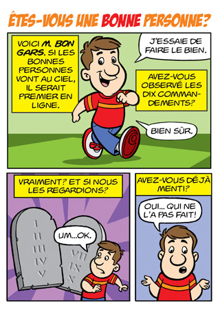 Comic - Êtes-vous une bonne personne? (French - Are you a Good Person?)