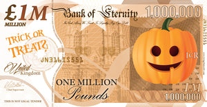 Halloween Million Pound Notes - NEW (2020)