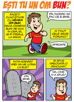 Comic - Esti un om bun? (Romanian Comic - Are you a Good Person?)
