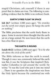 Scientific Facts in the Bible - Booklet