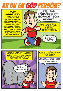 Swedish Comic - Are You A Good Person?