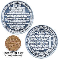Ten Commandment Coins