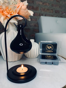 Black/ Black Wax Warmer