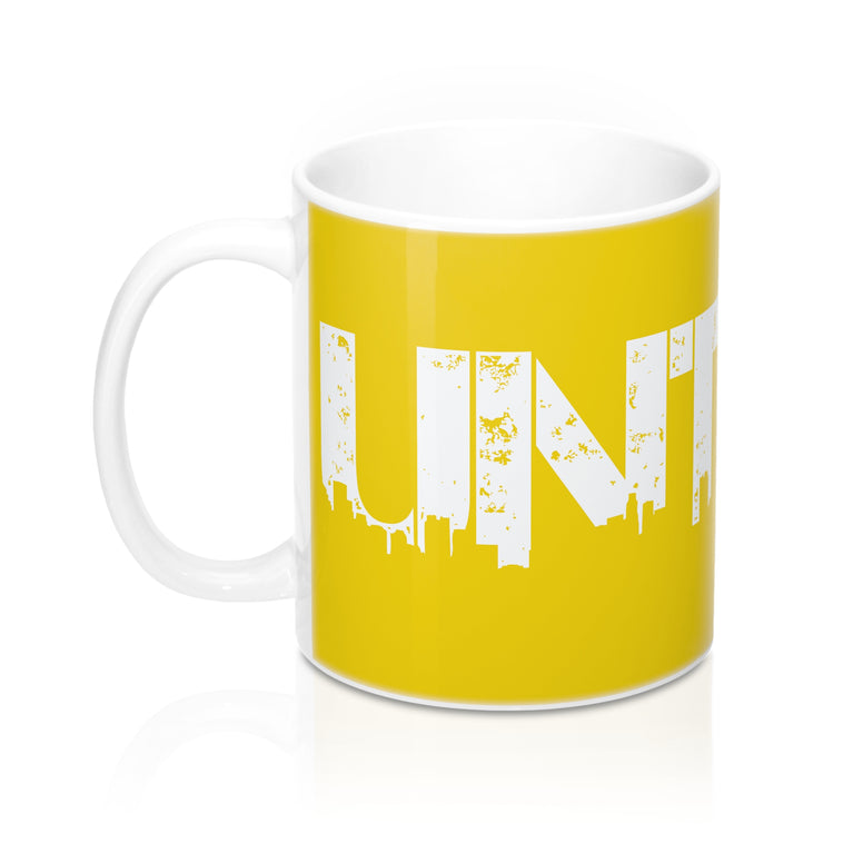 UNT Mugs Pissed Off Yellow