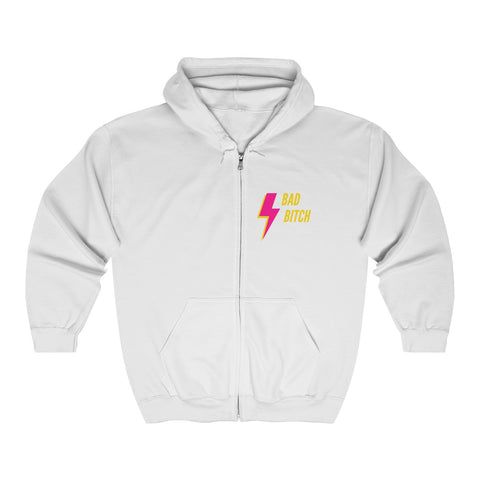 BAD Zip Hooded Sweatshirt