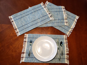Rag Placemat - Blues