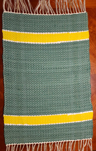 Green and Gold Rug