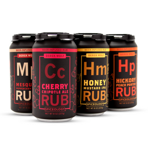 SIX-PACK BEER SPICE RUB