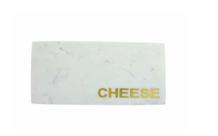 "MARBLE ""CHEESE"" BOARD"