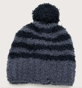 COZYCHIC KID'S STRIPED POM POM BEANIE