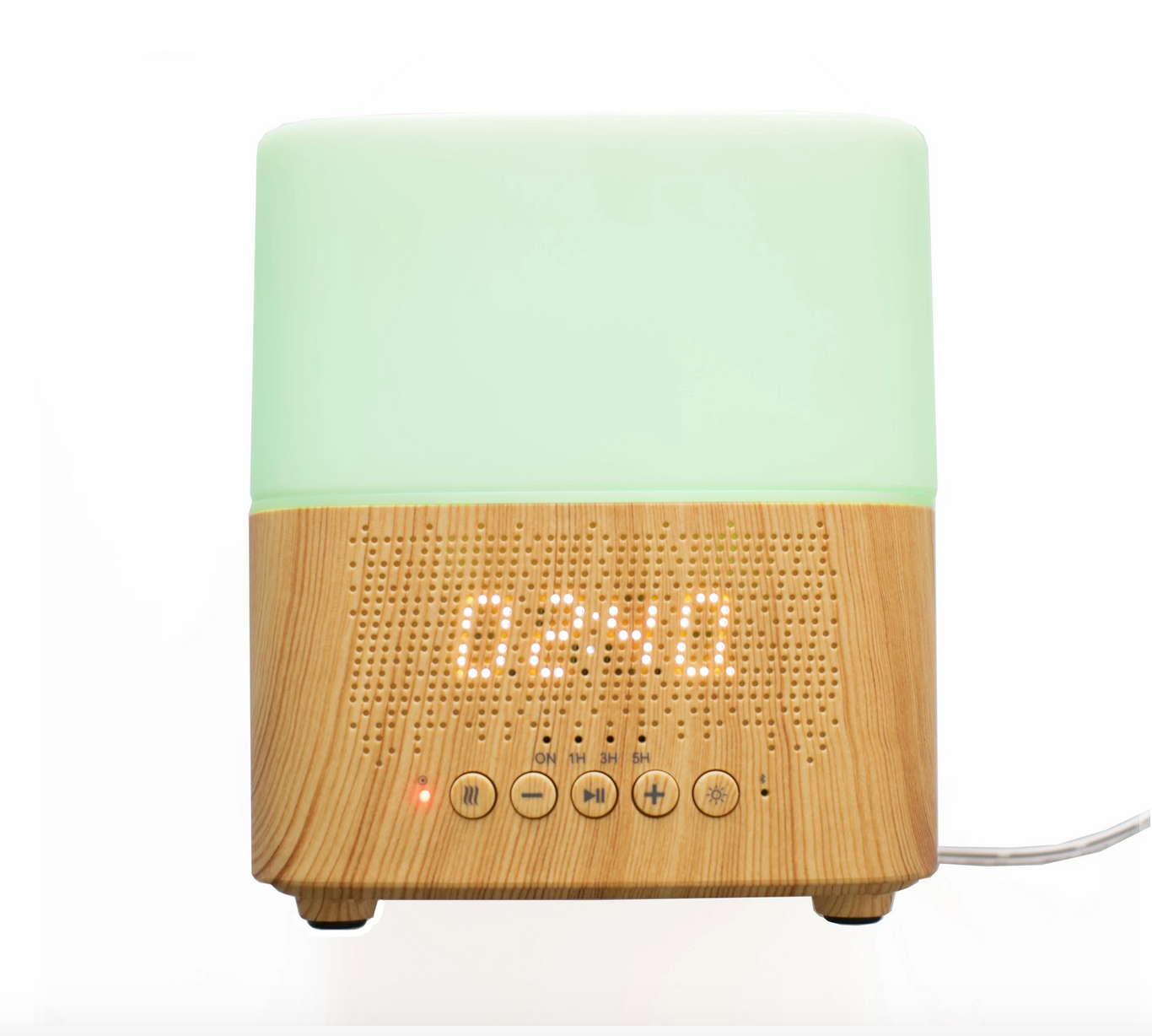 JUNE & MAY AROMA DIFFUSER AND BLUETOOTH CLOCK SPEAKER