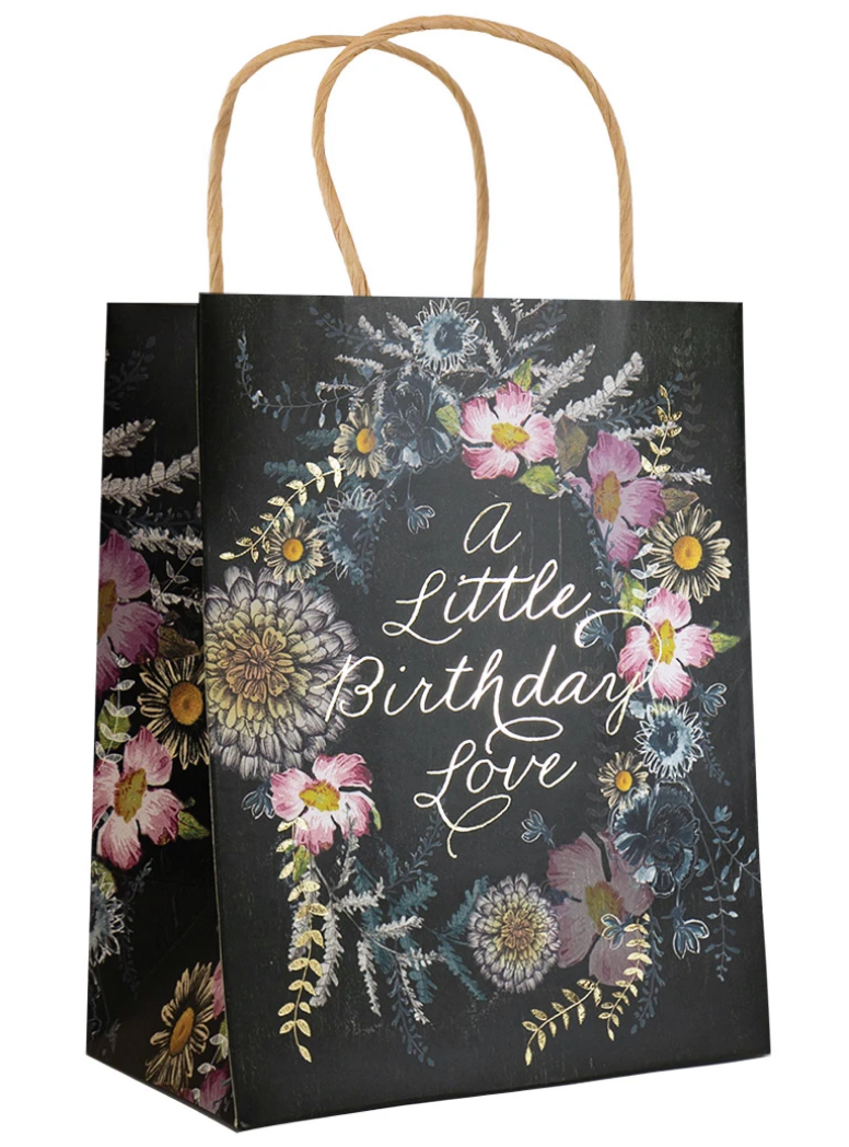 BIRTHDAY LOVE FOIL GIFT BAG