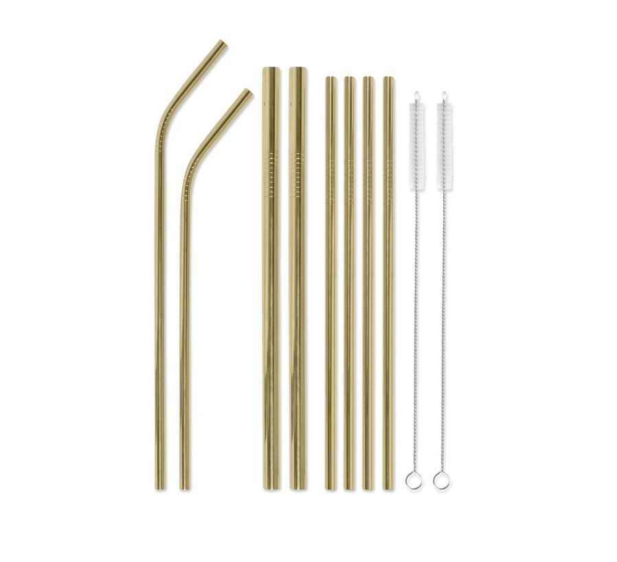 STRAW SET - CORAL
