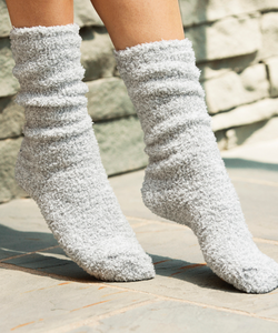 COZY CHIC HEATHERED SOCKS