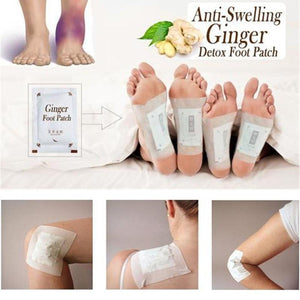 Ginger Detox Foot Pads (10 pcs)