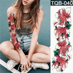 Waterproof Temporary Tattoo Body Stickers