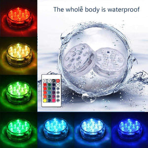 16 Colors Submersible LED Pool Lights