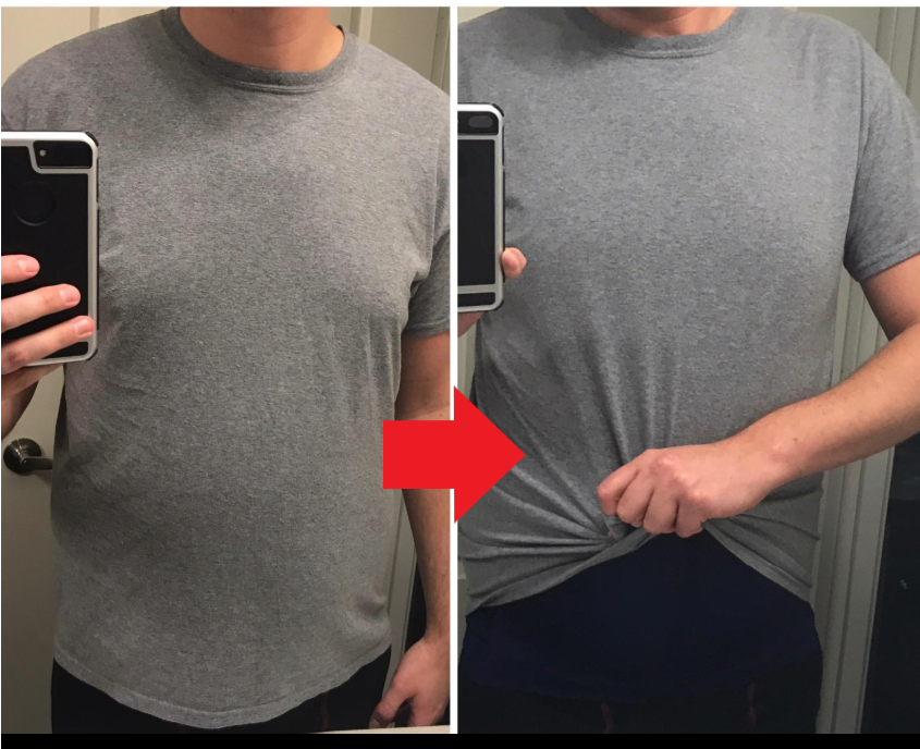 Slimming Body Shaper Under Shirt