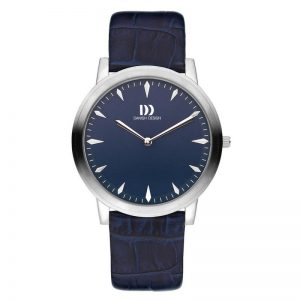 Gents Blue Leather Watch