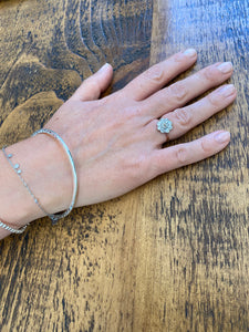 Hammered Hula Bangle