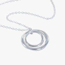 Load image into Gallery viewer, Double Hoop Necklace