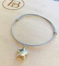 Load image into Gallery viewer, Sailing Rope Bracelet with Star Charm
