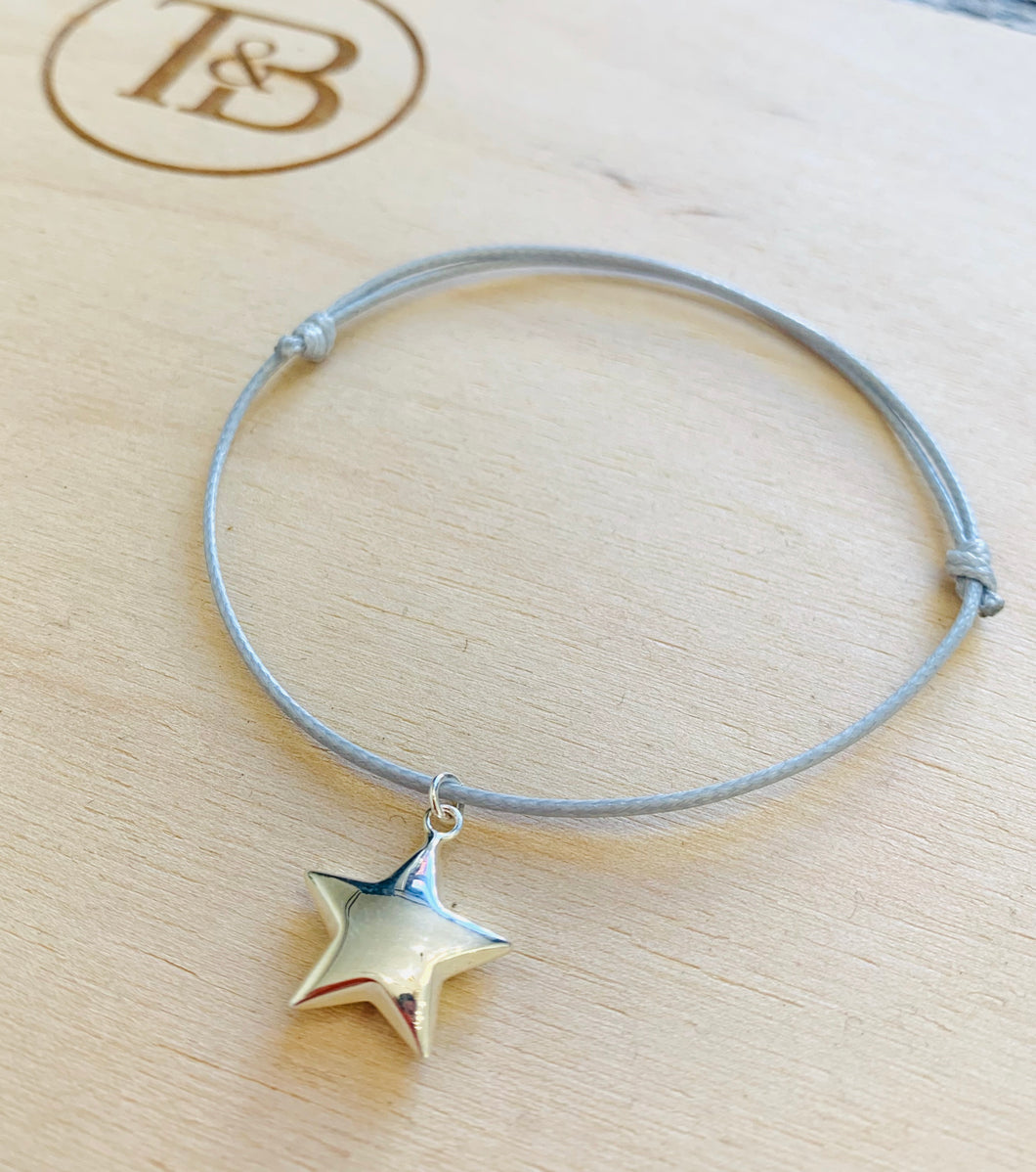Sailing Rope Bracelet with Star Charm