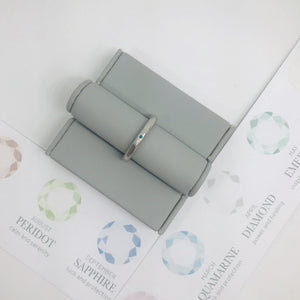 Birthstone Stacking Ring - December
