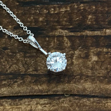 Load image into Gallery viewer, Clear CZ Pendant