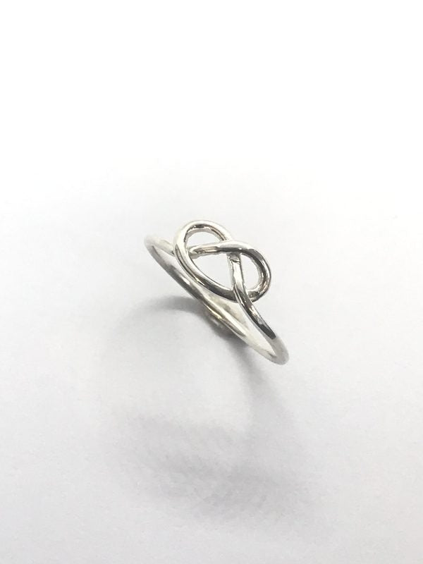 Silver Sailors Knot ring