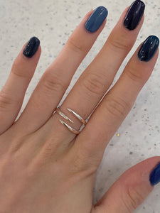 Sterling silver Tine ring
