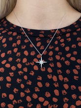 Load image into Gallery viewer, Pavé Set Star Necklace