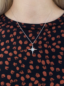 Pavé Set Star Necklace