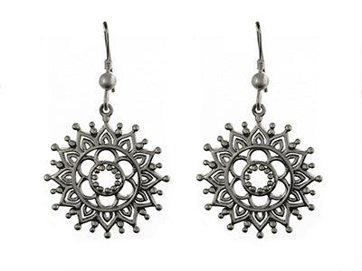 Henna Drop Earrings