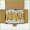 Go Bamboo cotton buds in a box.