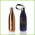 500ml gold coloured stainless steel bottle with a butterfly print carry cover.