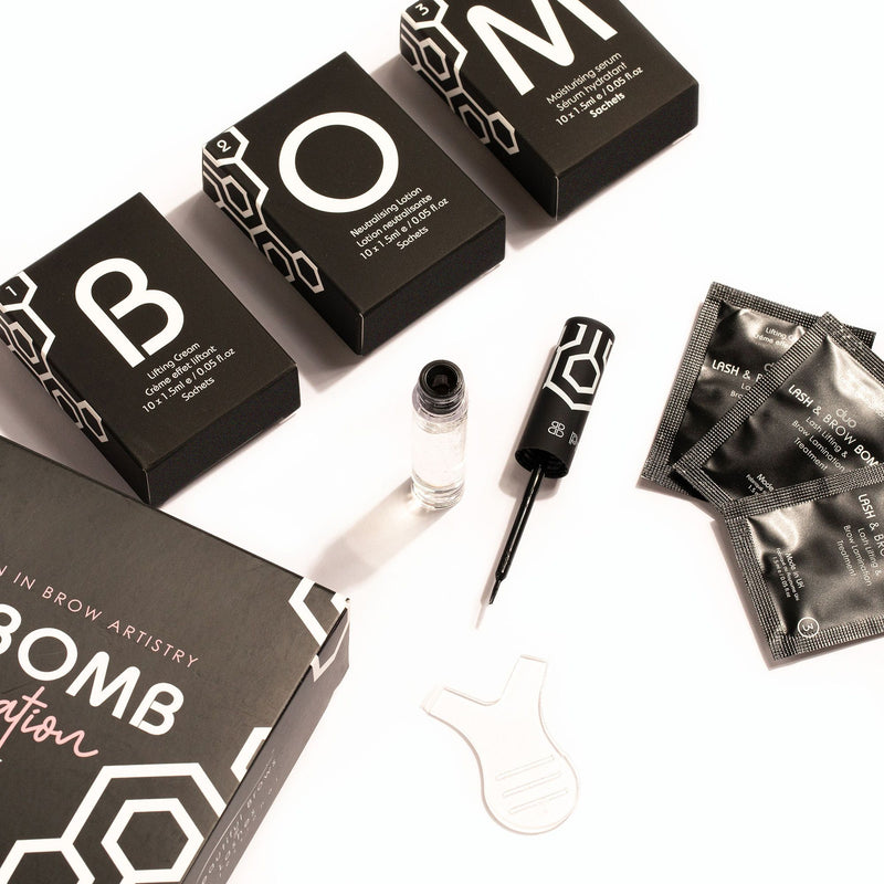 Lash Bomb USA - Brow Bomb Lamination Trial Pack
