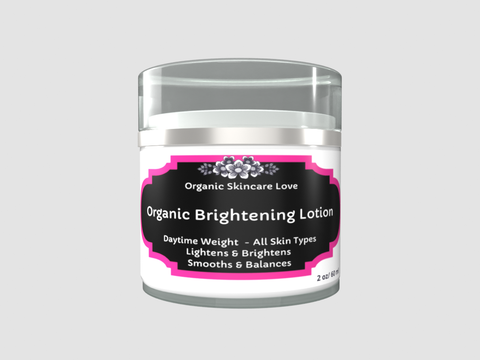 Organic Brightening Lotion