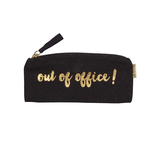 OUT OF OFFICE PENCIL CASE