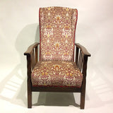 ARTS & CRAFTS RECLINING CHAIR  - FRONT