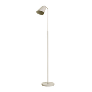 MATT PAINTED METAL FLOOR LAMP