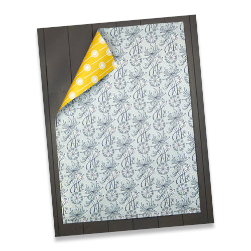 DANDELION DOUBLE SIDED GIFTWRAP
