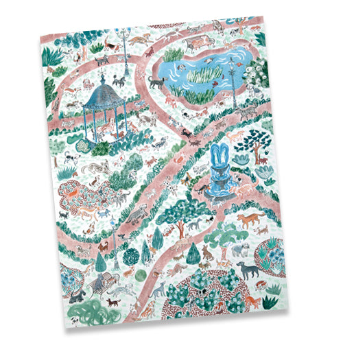 DOG PARK DOUBLE SIDED GIFTWRAP