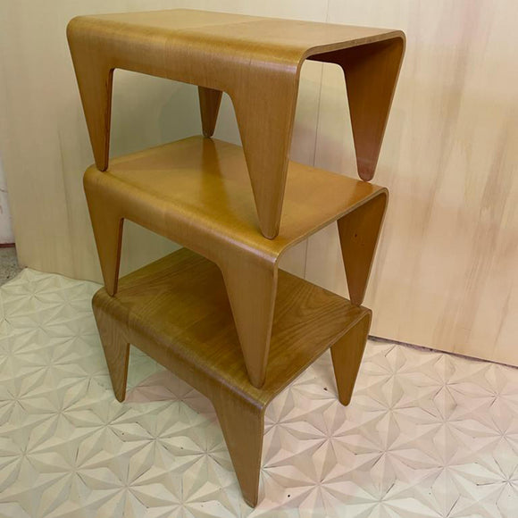MARCEL BREUER NESTING TABLES BAUHAUS DESIGN BY ISOKON