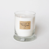 AEQUILL SCENTED CANDLES - LAVENDER & MARJORAM