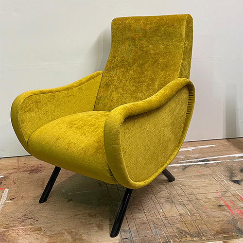 MARCO ZANUSO LADY CHAIR - Mustard