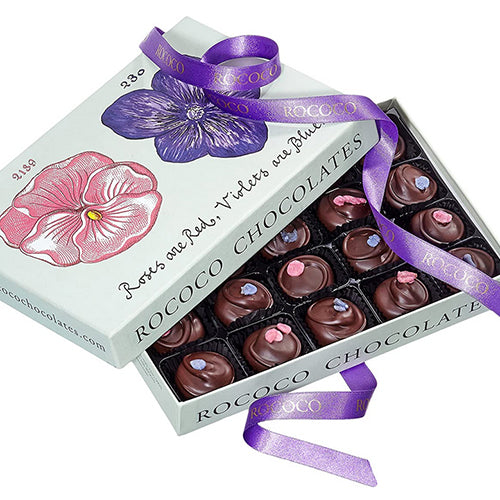 ROSE AND VIOLET CREAMS - LARGE