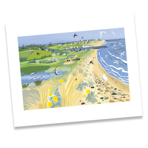 CARD - TOWARDS SOUTHWOLD