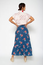Lola Skirt Blue Marigold