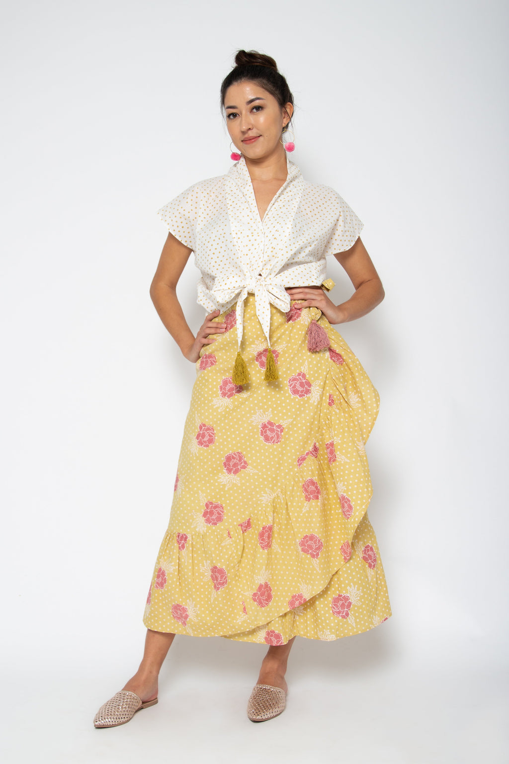 Lola Skirt Yellow Marigold